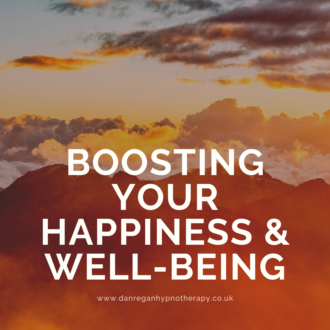 Boosting happiness and Well being hypnotherapy