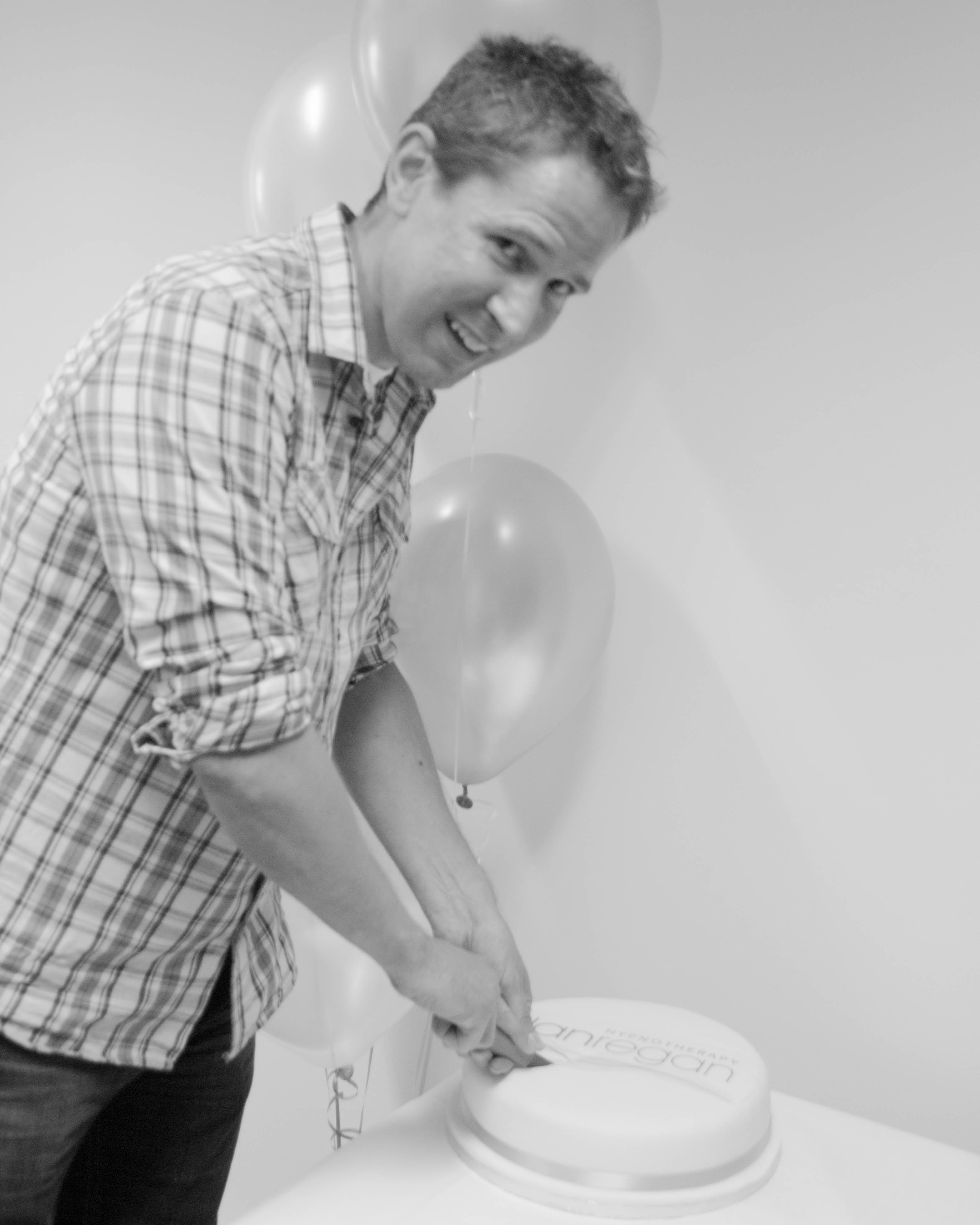 Dan Regan Hypnotherapy Ely office launch June 2015