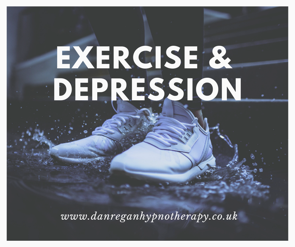Exercise and Depression hypnotherapy ely