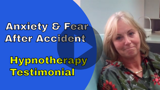 anxiety and fear after road Accident hypnotherapy in ely testimonial