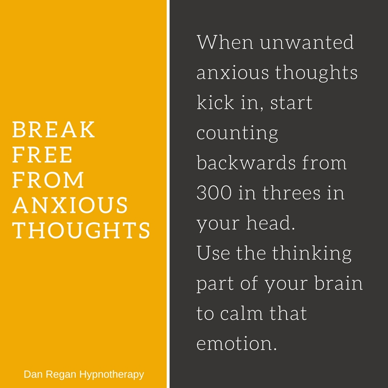 break free from anxious thoughts hypnotherapy ely
