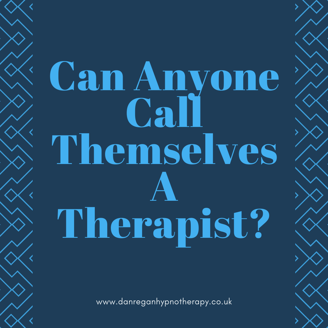 can anyone call themselves a therapist hypnotherapy ely