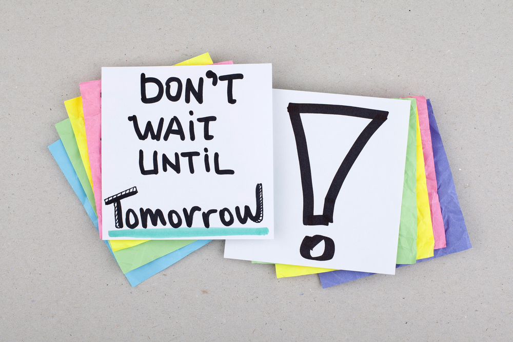 dont wait until tomorrow hypnotherapy in ely