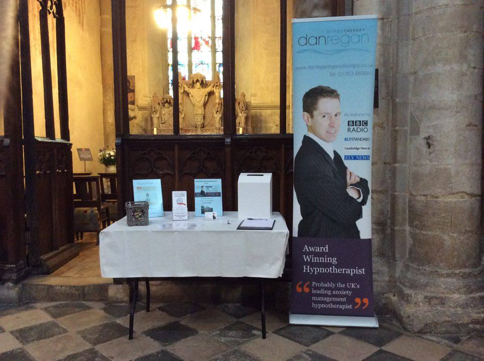 ely cathedral celebration of business dan regan hypnotherapy