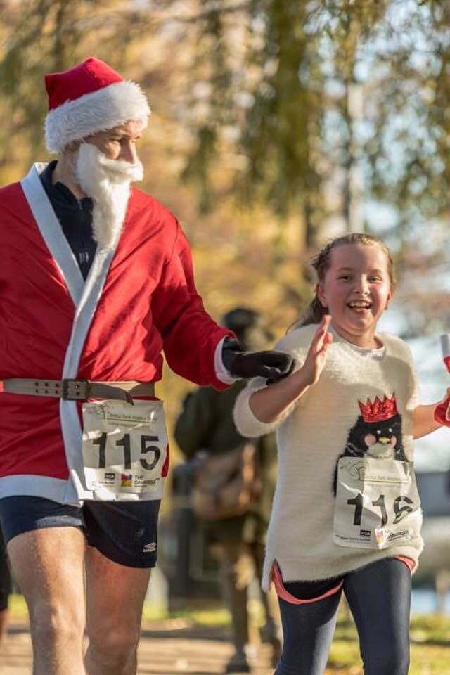 exercise anxiety ely festive 5k