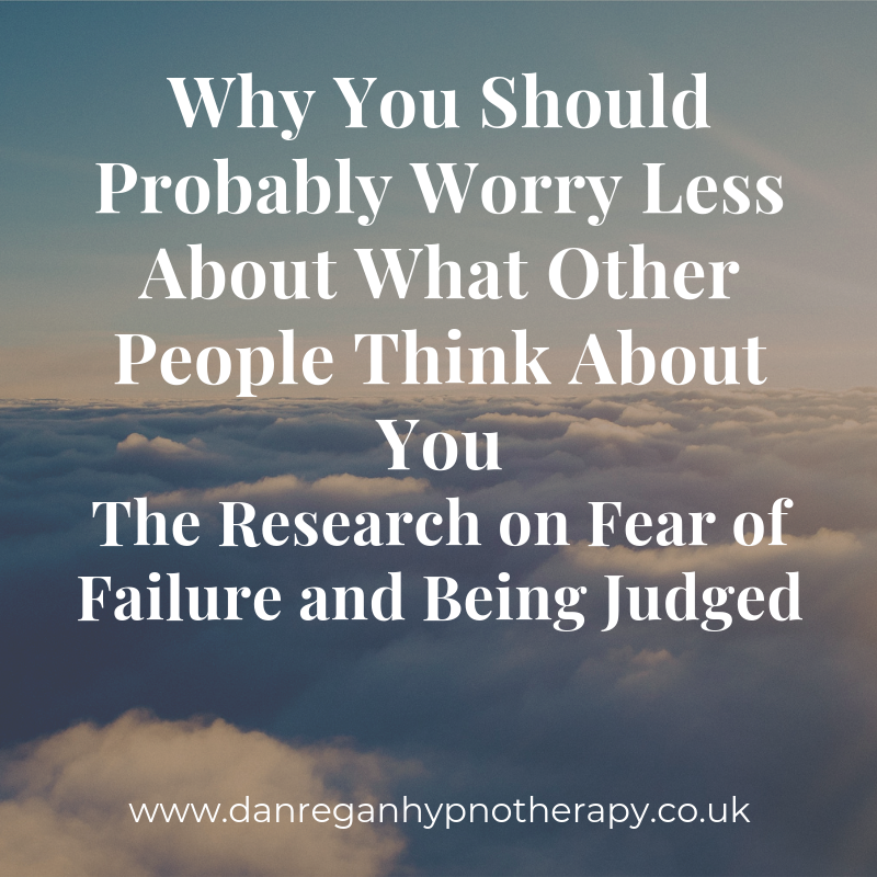 fear of failure being judged hypnotherapy ely