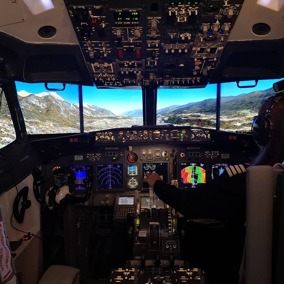 fear of flying course hypnotherapy and flight simulator