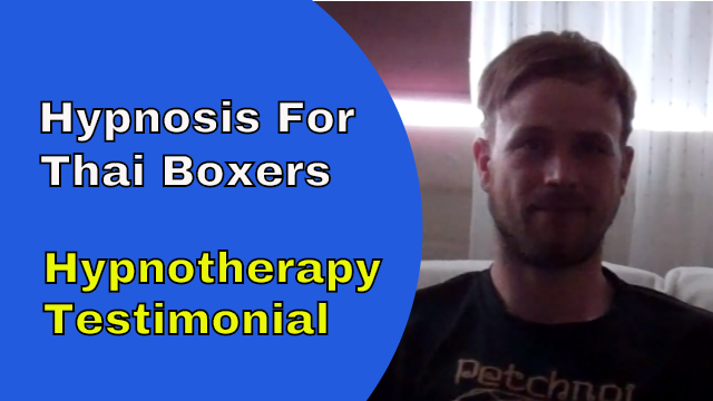hypnosis for thai boxers simon