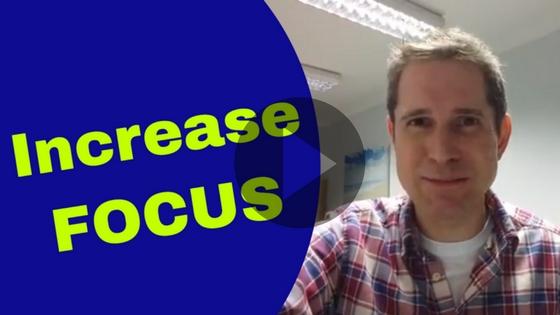 Increase Focus - Dan Regan Hypnotherapy Video