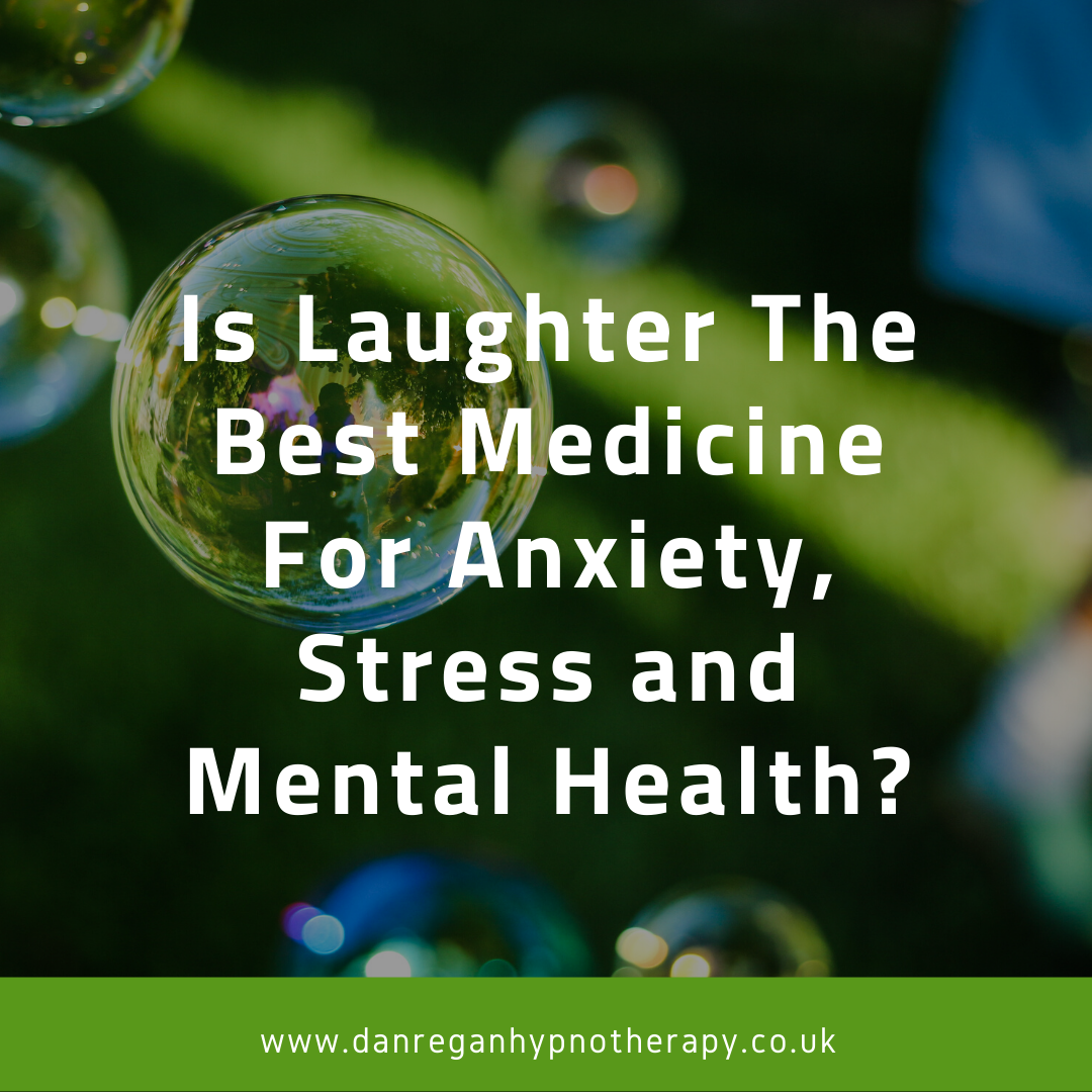 laughter anxiety stress mental health hypnotherapy ely