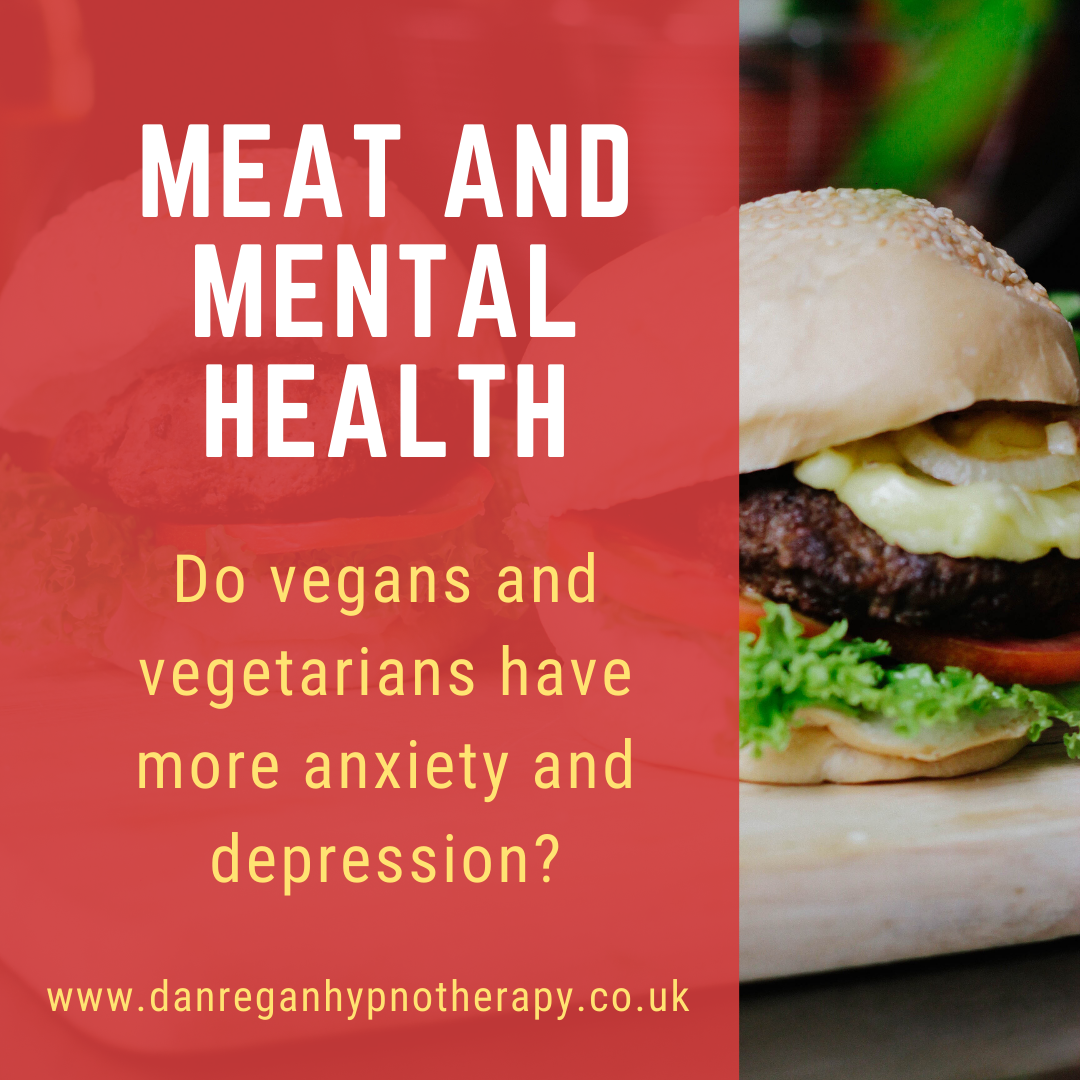 meat mental health anxiety depression hypnotherapy