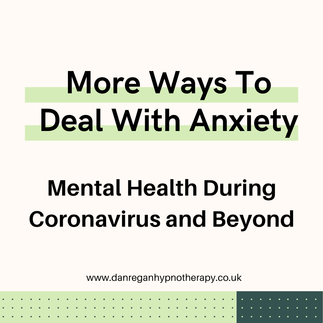 more ways to deal with anxiety coronavirus mental health