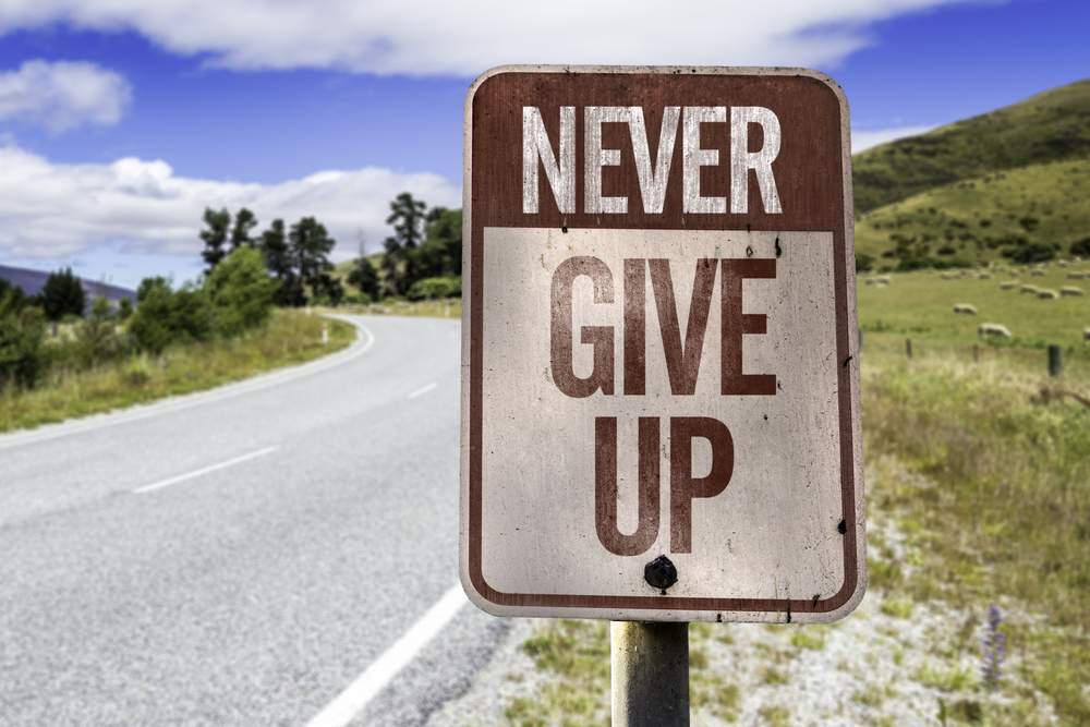 never give up confidence anxiety hypnotherapy in ely