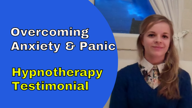overcoming anxiety hypnotherapy newmarket testimonial Danni