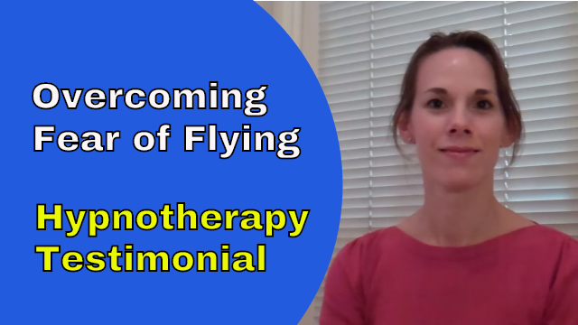 overcoming fear of flying hypnotherapy in Ely testimonial Claire
