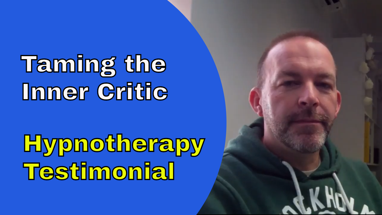 overcoming inner critic and fear of failure hypnotherapy testimonial