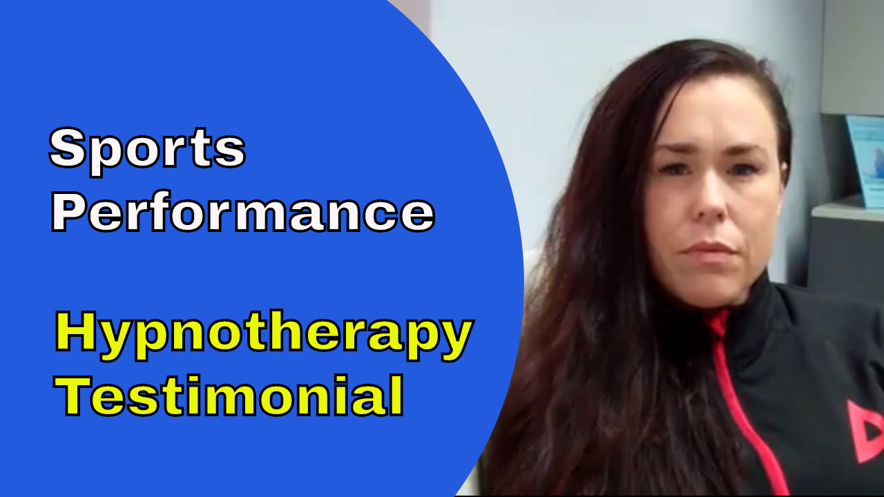 sports performance hypnotherapy testimonial motivation focus mindset