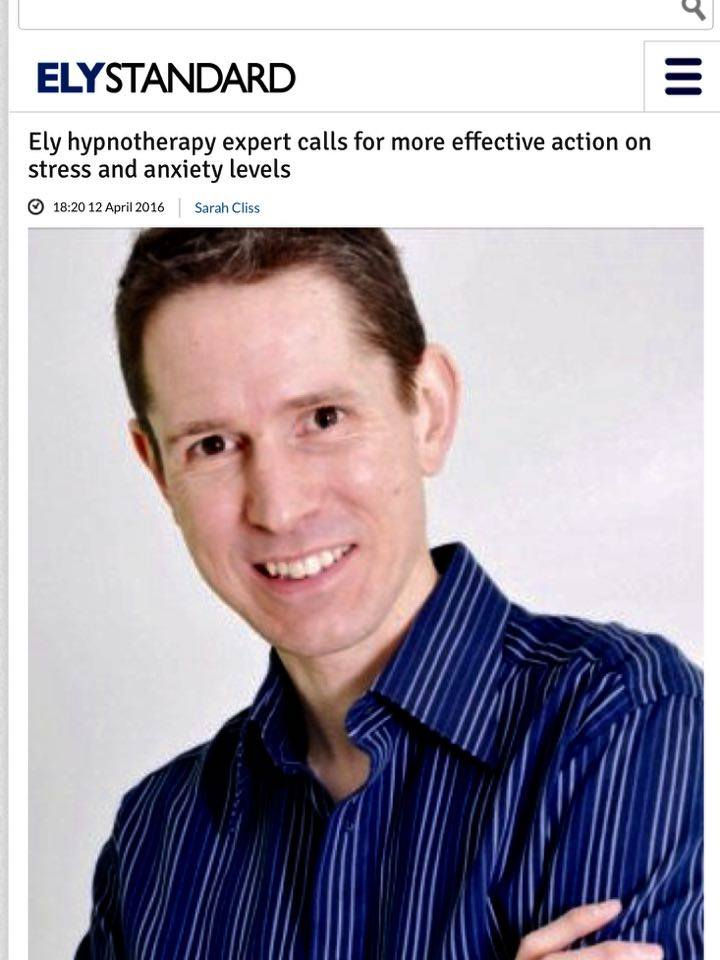 stress and anxiety ely standard hypnotherapy