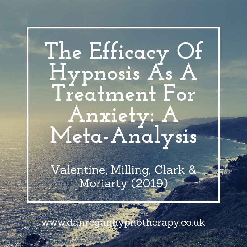 the efficacy of hypnosis as a treatment for anxiety hypnotherapy in ely