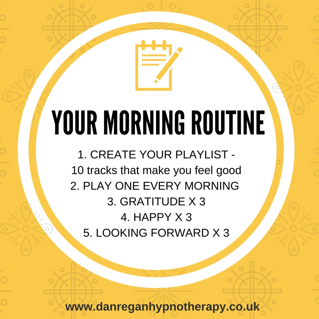 your morning routine dan regan hypnotherapy ely newmarket