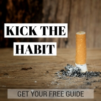 kick the habit Quit smoking